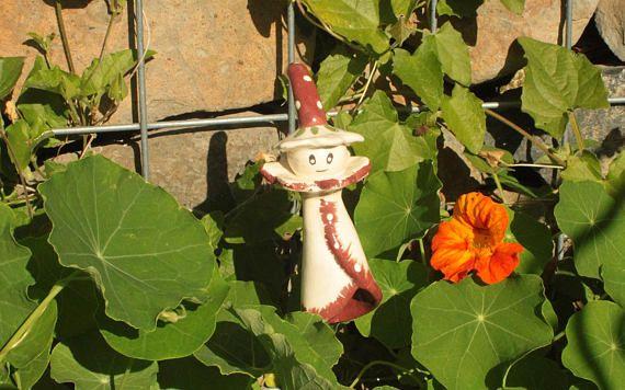 Pixie flower Ceramic  Garden decor