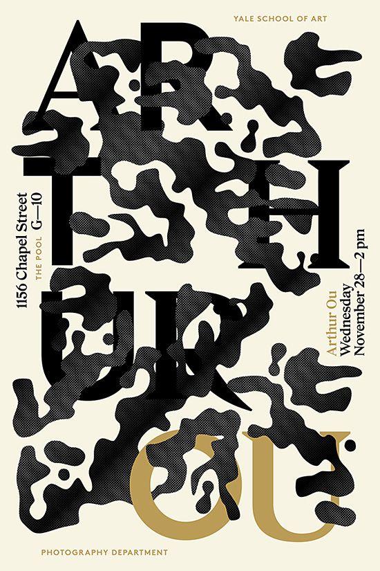 Typographic Posters by Jessica Svendsen