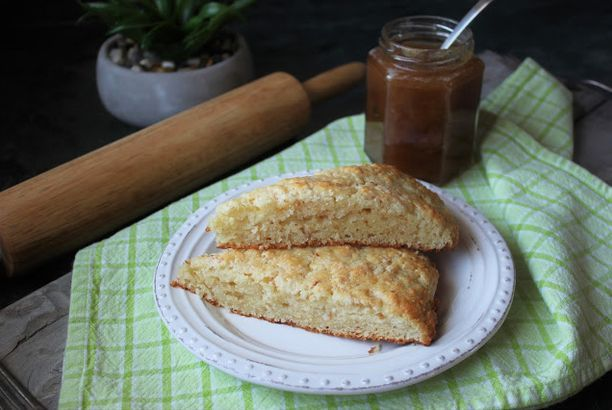 Flash Back Friday ~ Coconut Scones and Rhubarb Jam