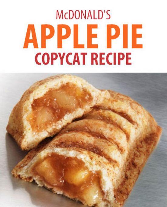 McDonalds Copycat Apple Pie Recipe