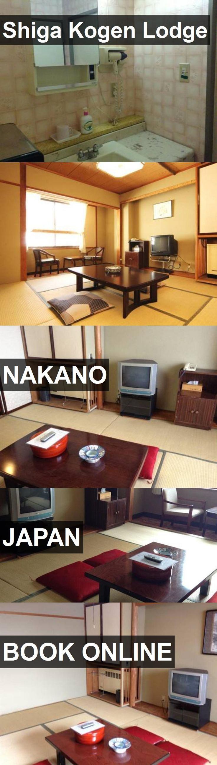 Hotel Shiga Kogen Lodge in Nakano, Japan. For more information, photos, reviews and best prices please follow the link. #Japan #Nakano #hotel #travel #vacation
