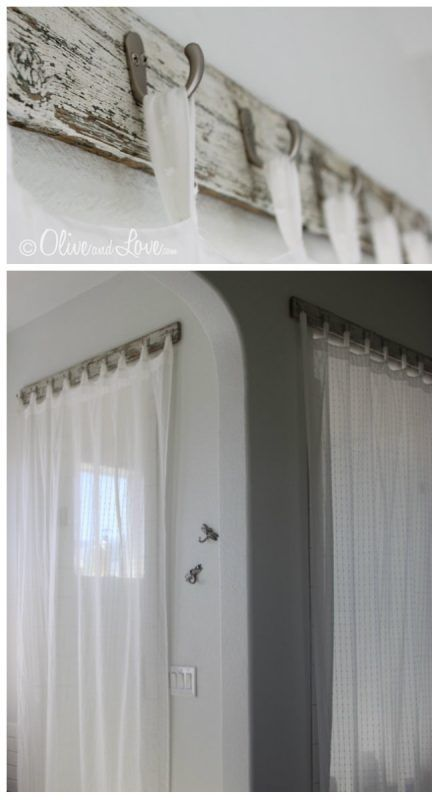 M s de 1000 ideas sobre ganchos de cortina en pinterest for Ganchos de metal para cortinas