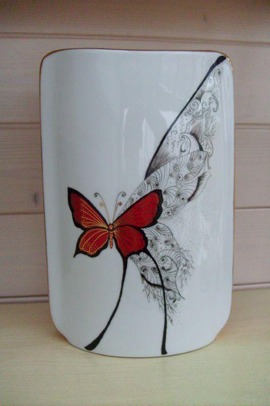 Papillon fou rouge - 30 € - frais de port en plus