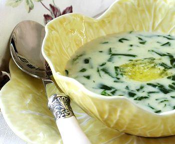 Щавелевый весенний суп - Французские супы 1001 ЕДА
