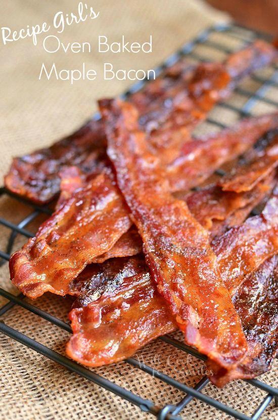 Recipe Girl's Maple Dijon Bacon |  find on willcookforsmiles.com #bacon
