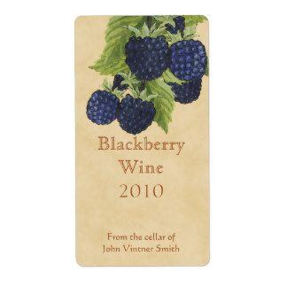 Blackberry Wine Label Templates Free Google Search