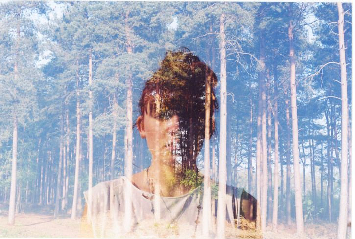 """Double Exposure"" #12 __ Photography: Oliver Morris __ #inspiration #creativity #concept #art #art_direction #digital #photography #digital_photography #oliver_morris #portrait #people #exposure #double_exposure #smashingpicture"