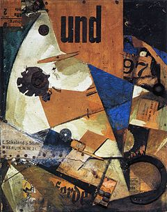 Kurt Hermann Eduard Karl Julius Schwitters (20 June 1887 – 8 January 1948) was a German painter who was born in Hanover, Germany.  Schwitters worked in several genres and media, including Dada, Constructivism, Surrealism, poetry, sound, painting, sculpture, graphic design, typography and what came to be known as installation art. He is most famous for his collages, called Merz Pictures.