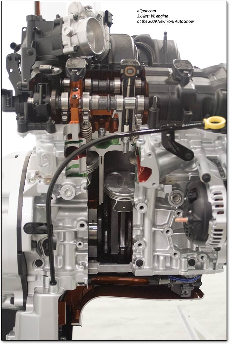 Phoenix motor V6 de Chrysler