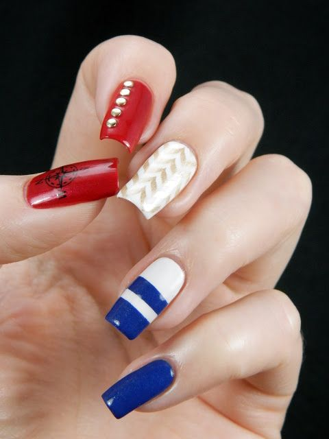 Latest nail art designs 2014 | nail art designs tutorial | Cute toenail designs easy | Nails tutorial | nails art diy...  | See more at http://www.nailsss.com/colorful-nail-designs/3/