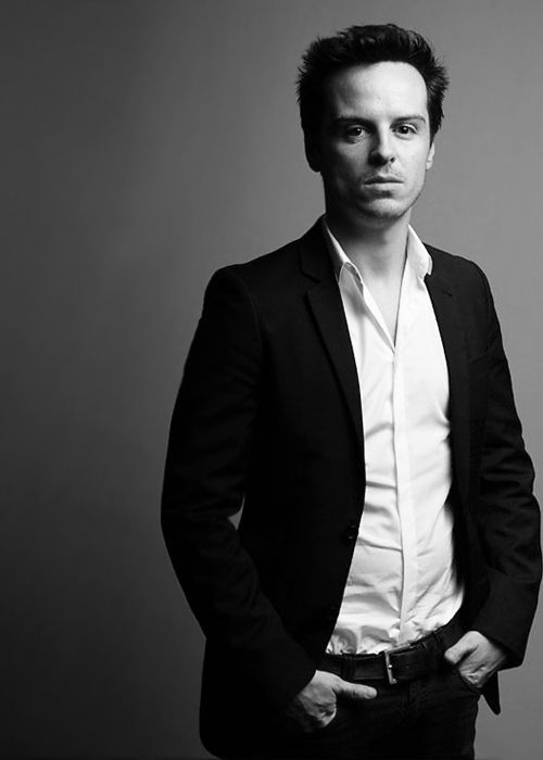 Andrew Scott: Probably one of the coolest actors in the world! Watch him as Moriarty in Sherlock!