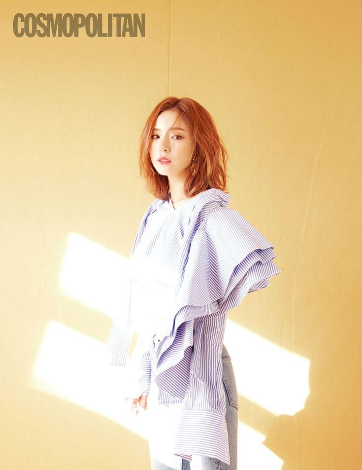 Shin Se Kyung tóc ngắn quyến rũ cực hút mắt trên tạp chí mới - Điện ảnh
