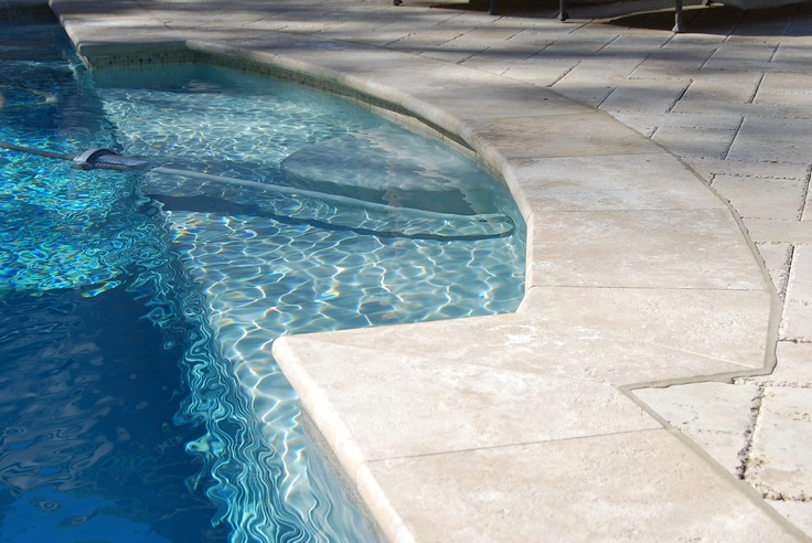 Gold Travertine Pool Coping Pool Amp Outdoor Designs