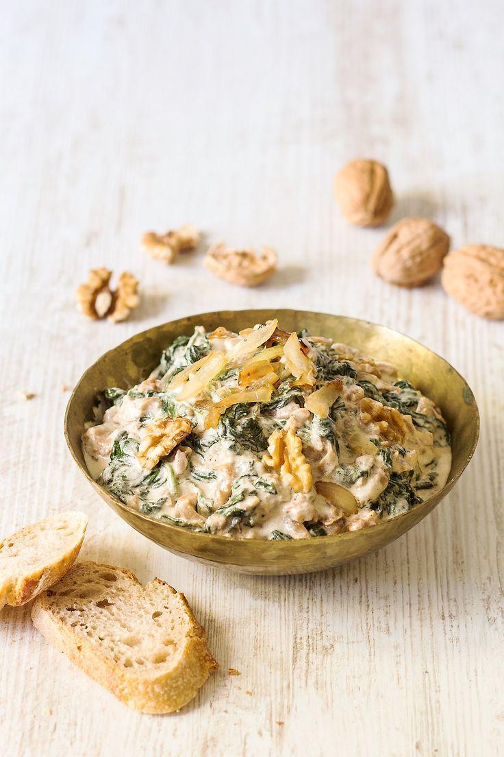 Le borani est une entrée iranienne à base de légumes cuits et de yaourt égoutté.