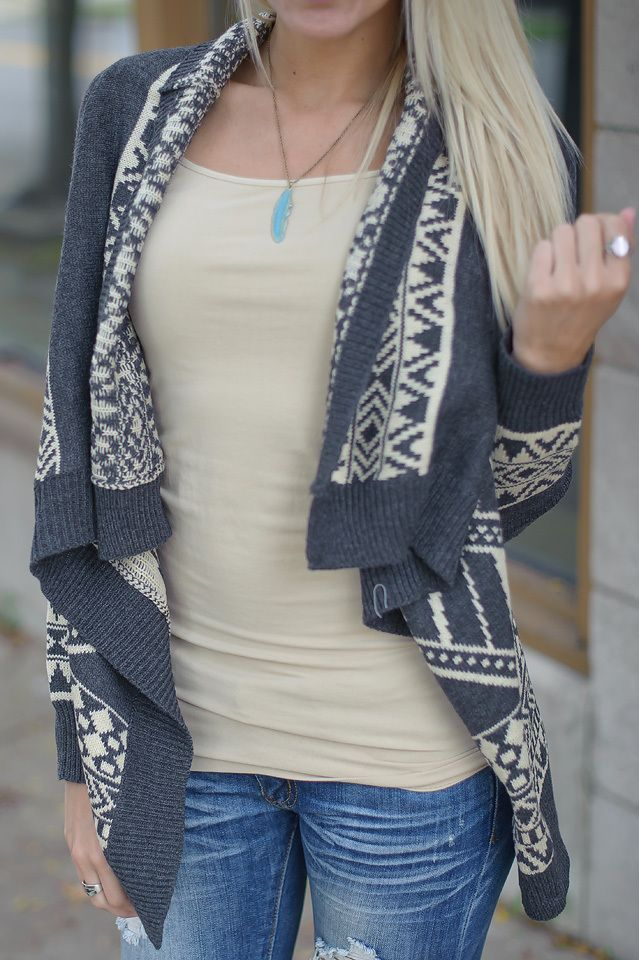Change Of Seasons Cardi - Piace Boutique $44.99