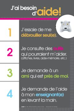 j'ai besoin d'aide poster