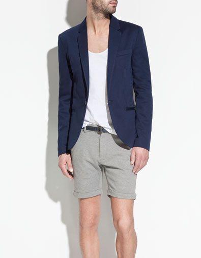 La giacca dovrebbe essere questa, anche se sono ancora indeciso sul colore: blue marine ou gris? e la camicia sarà bianca, di lino. Ma i pantaloni?
