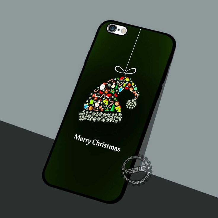 Glow Hat Christmas - iPhone 7 6 5 SE Cases & Covers