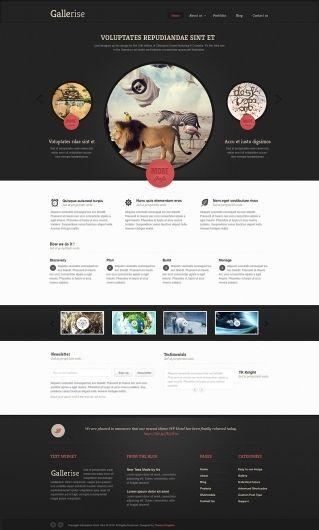 Gallerise - Photoshop - Creattica layout