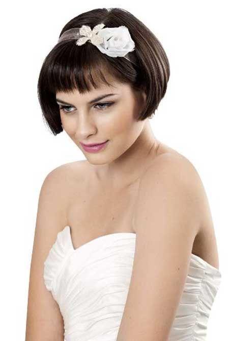 Astonishing 1000 Ideas About Short Bridal Hairstyles On Pinterest Wedding Hairstyles For Men Maxibearus