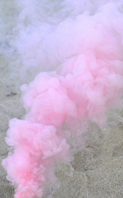 cotton candy smoke