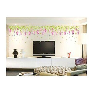 seinä tarroja Seinätarrat, tyyli Kiinansinisade makea pvc seinä tarroja – EUR € 16.30