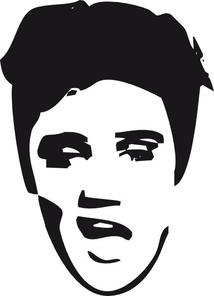 elvis coloring pages 2 elvis presley clip art by ocal