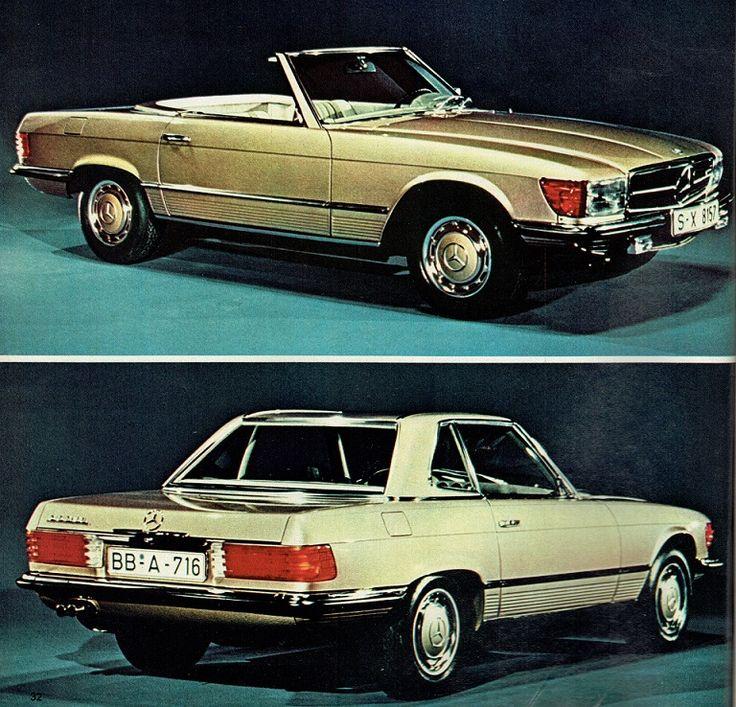 Mercedes 350 SL. L'Automobile, mayo 1971
