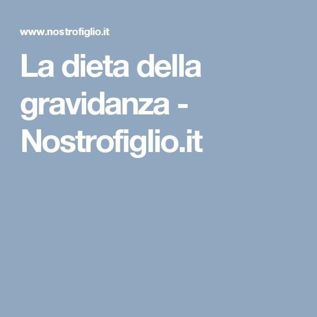 La dieta della gravidanza - Nostrofiglio.it