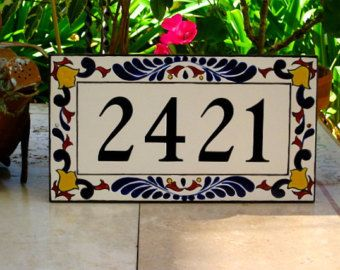 1000 ideas about house number plaques on pinterest. Black Bedroom Furniture Sets. Home Design Ideas