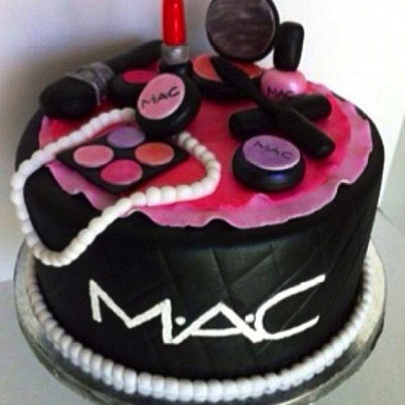 Makeup Cake Decorations : mac makeup cake Sweet stuff Pinterest Makeup Cakes ...