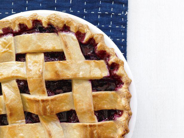Easter Blackberry Pie Lattice-Top Blackberry Pie Recipe : Paula Deen : Food Network - FoodNetwork.com