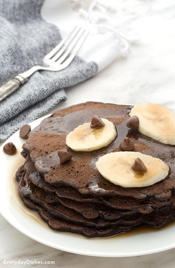 1077 best everyday recipes images on pinterest simple food chocolate pancakes with bananas forumfinder Gallery