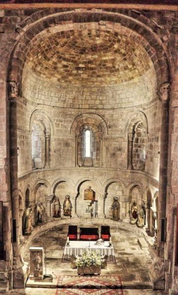 Silió, Románico del Besaya, Cantabria - Iglesia de San Facundo y San Primitivo