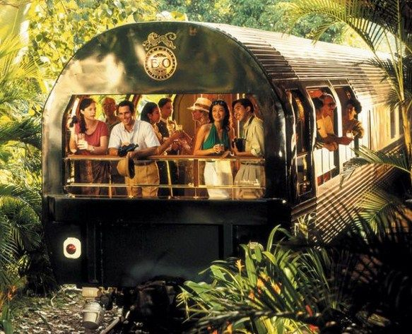 Orient Express – one of the most luxurious train, which runs between Thailand, Malaysia and Singapore, the transportation of passengers through the beautiful rainforests, mountains and villages. Ticket price starts from 2300 dollars per person.