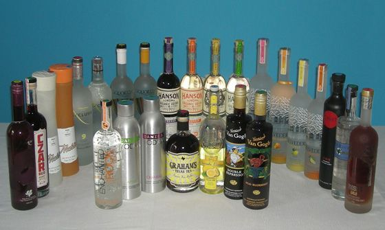 The Fifty Best Flavored Vodka Tasting 2014