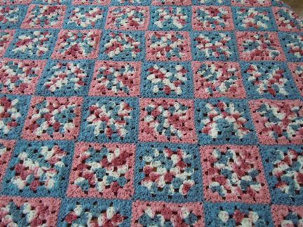 Granny Square Afghan Pattern Another Potential Use Of