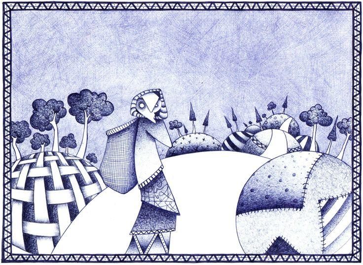 ilustración a boli