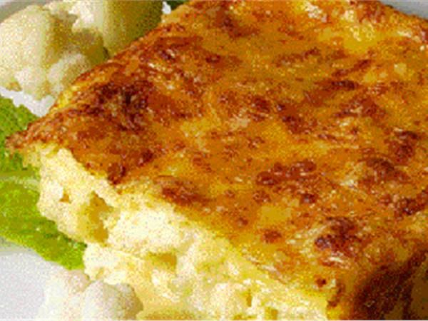 κουνουπιδι ογκραντεν Ένα χορταστικό πιάτο με πρωταγωνιστή το κουνουπίδι. Πλούσιο σε γεύση και φυτικές ίνες. Απολαύστε το ζεστό.
