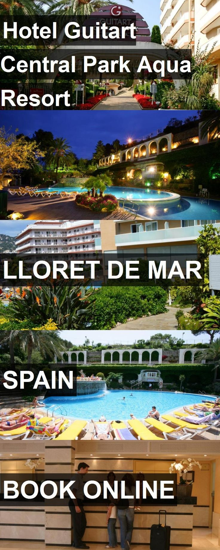 Hotel Hotel Guitart Central Park Aqua Resort in Lloret de Mar, Spain. For more information, photos, reviews and best prices please follow the link. #Spain #LloretdeMar #HotelGuitartCentralParkAquaResort #hotel #travel #vacation