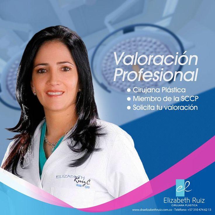 Solicita tu cita de valoración y descubre todo lo que tenemos para que tu cirugía sea una experiencia maravillosa.  Contáctanos ahora llamando al (+57) 310 474 62 13 o a través de nuestro sitio web.  Dra. Elizabeth Ruiz Médica y Cirujana Cirujana Plástica Miembro de la Sociedad Colombiana de Cirugía Plástica. CQB - Consultorio 203 PBX: 572 513 15 -72 - 57 310 474 62 13 - 57 320 695 89 19 #plasticsurgery #cirugiaplastica #plasticsurgeon #cirujanaplastica