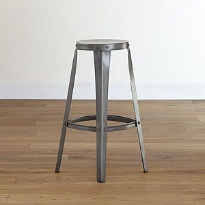cargo bar stools, set of 2 $159.98 reminds me of my Grandpa's drafting table's stool.: Stools Sets, Metals Stools, Breakfast Bar, Kitchens Tables, Kitchens Islands, Metals Bar Stools, World Marketing, Cargo Bar, Kitchens Stools
