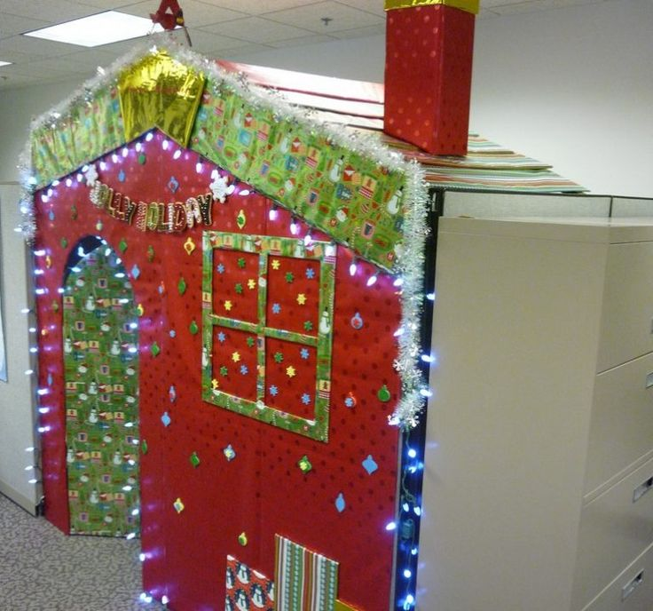 Captivating 20 Office Cubicle Christmas Decorations Design Funny Christmas Cubicle  Decorating Ideas