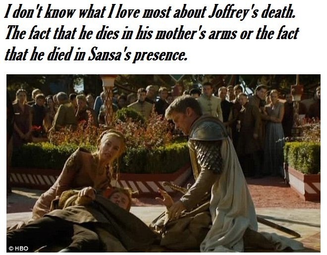 Game of Thrones. King Joffrey Death's