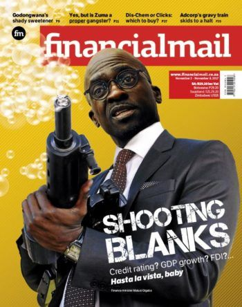 #CoverStories 10 November 2017 — thoughtfulness in design — Financial Mail (South Africa), 2–8 November 2017: Malusi Gigaba