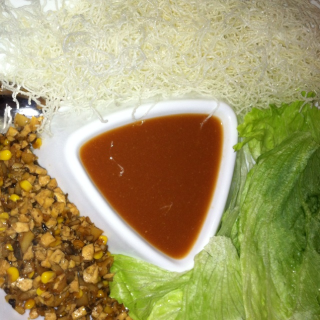 ... Pinterest | Pf changs, Vegetarian lettuce wraps and Spicy green beans