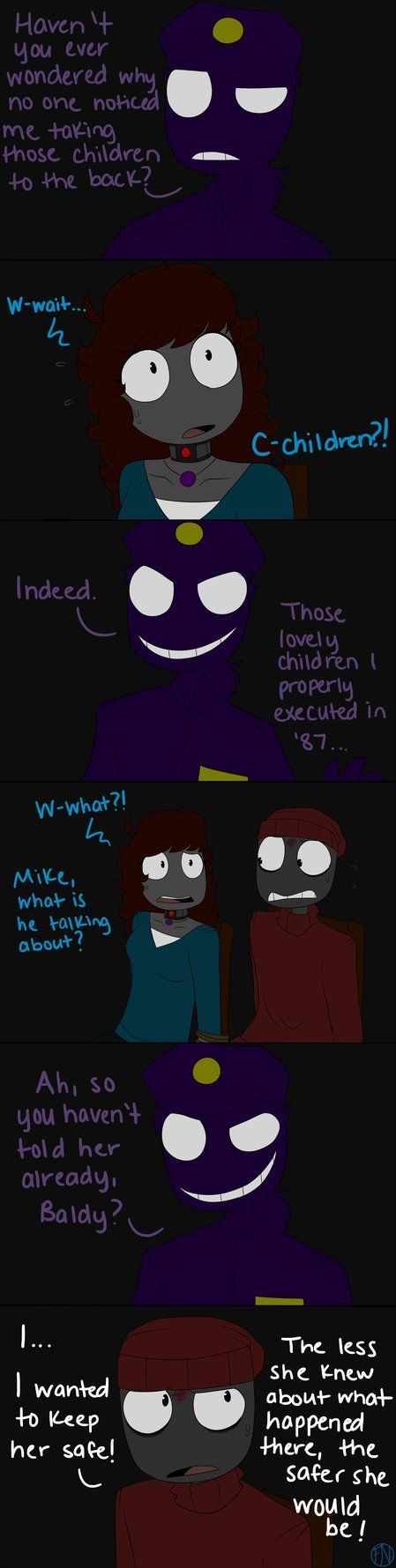 Don't Touch My Family Pt. 24 by FNAFNations