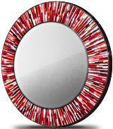 Roulette Mirror Red © Piaggi