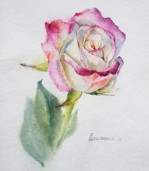 Ekaterina Logvinenko . Watercolor. 2015.