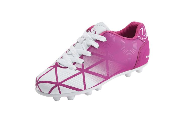 Xara Illusion FG Junior/Kids Soccer Shoe (Pink)